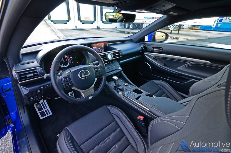 2016-lexus-rc-200t-dashboard-interior