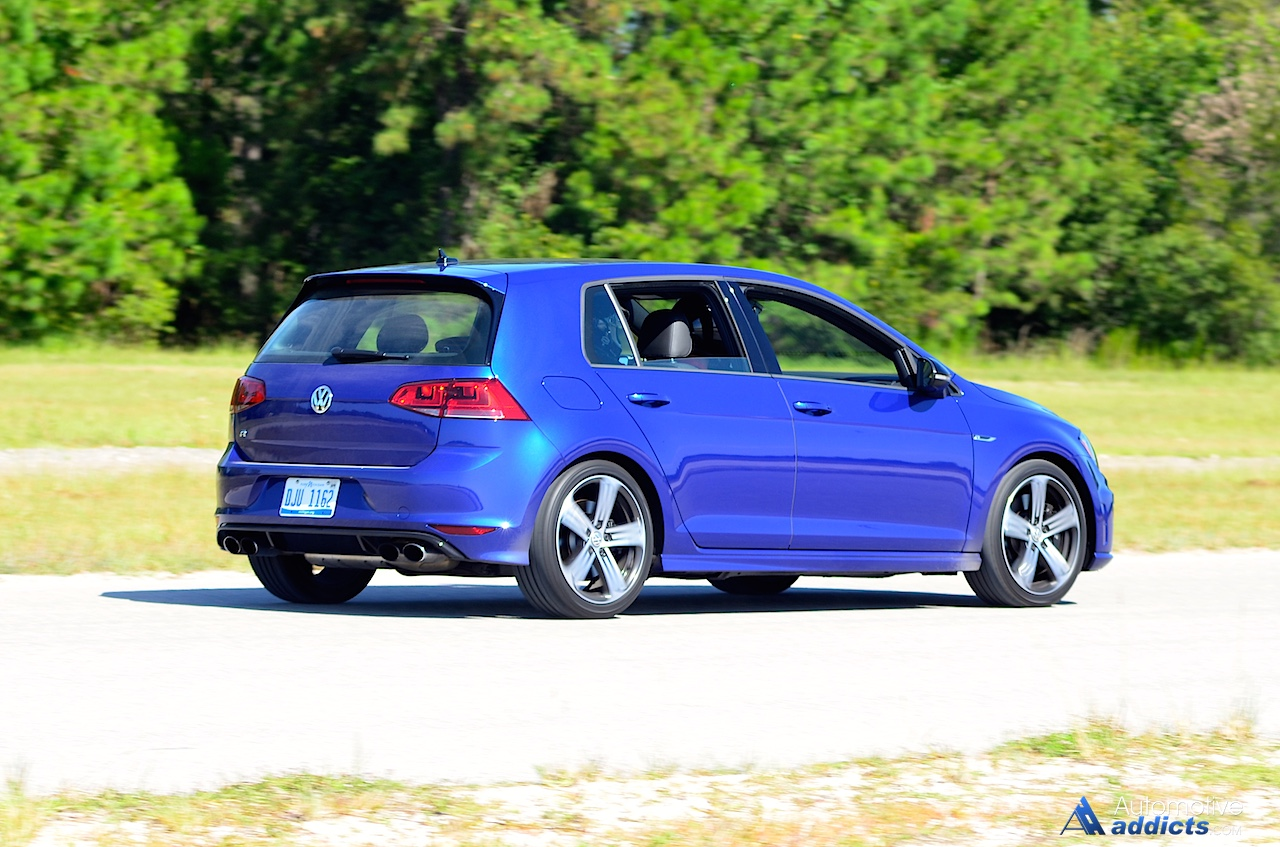 2016 volkswagen golf r review test drive vw s hot. Black Bedroom Furniture Sets. Home Design Ideas