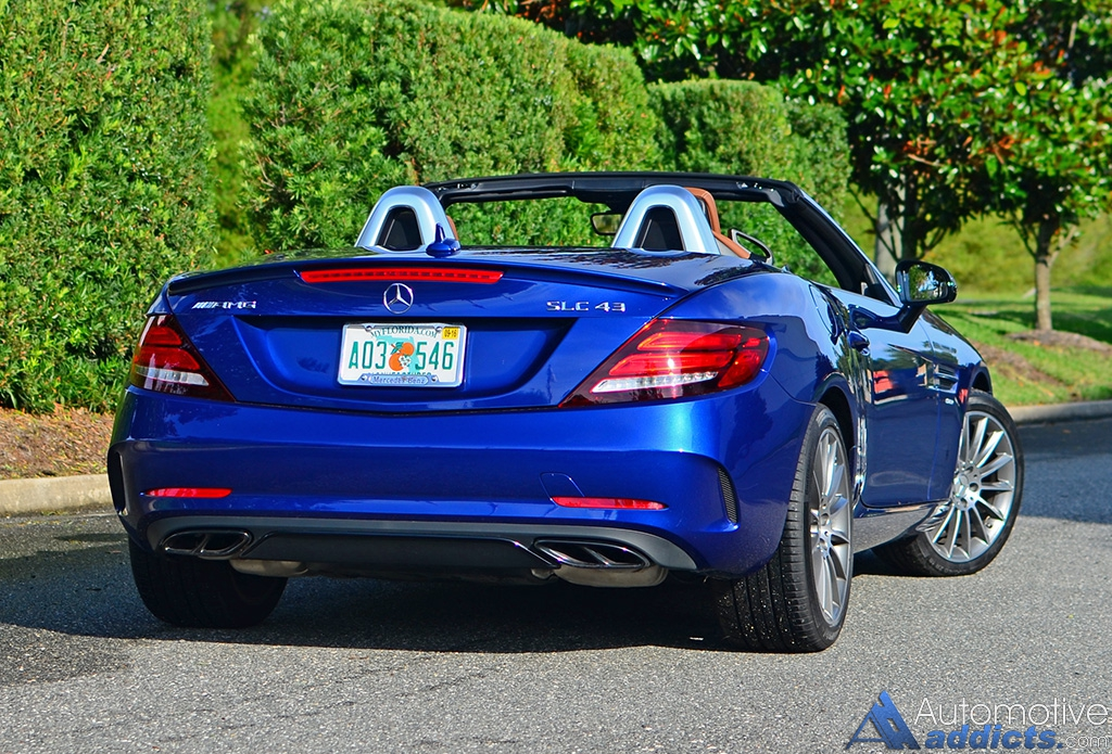 2017 Mercedes Amg Slc 43 Review Amp Test Drive