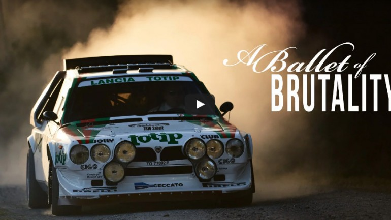 A Jacksonville, FL Local's Lancia Delta S4 Chronicled by Petrolicious: Video