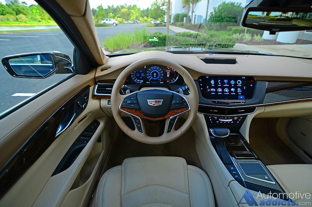 2016 Cadillac CT6 Platinum 3 0TT Review & Test Drive
