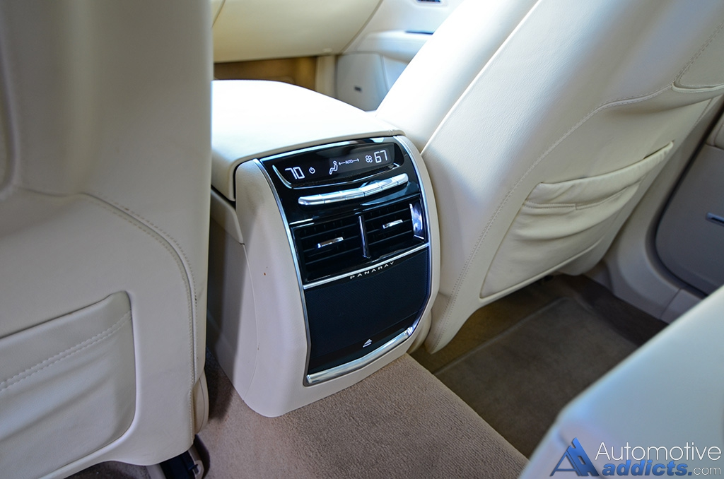2016 Cadillac Ct6 Platinum Rear Seat Climate