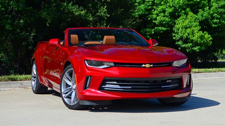 2016 Chevrolet Camaro 2LT RS V6 Convertible Review & Test Drive