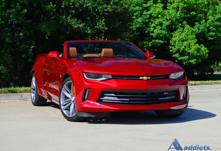 2016 chevrolet camaro 2lt rs v6 convertible review test drive. Black Bedroom Furniture Sets. Home Design Ideas