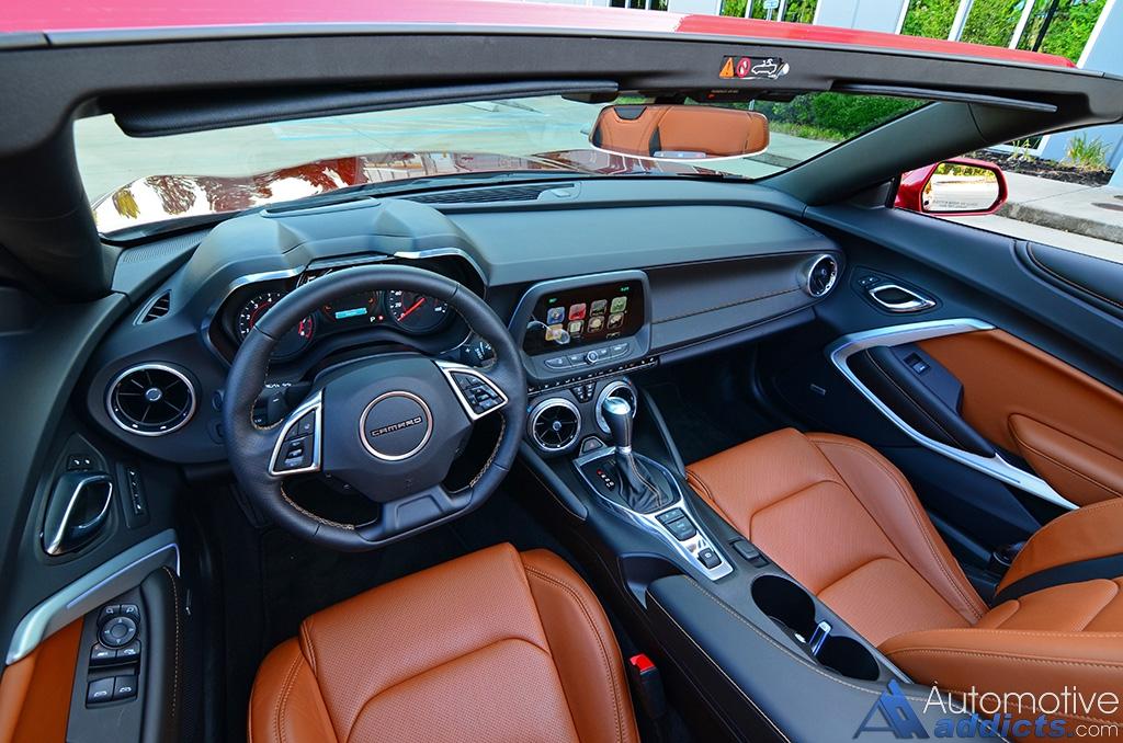2016 Chevrolet Camaro Rs V6 Convertible Dashboard