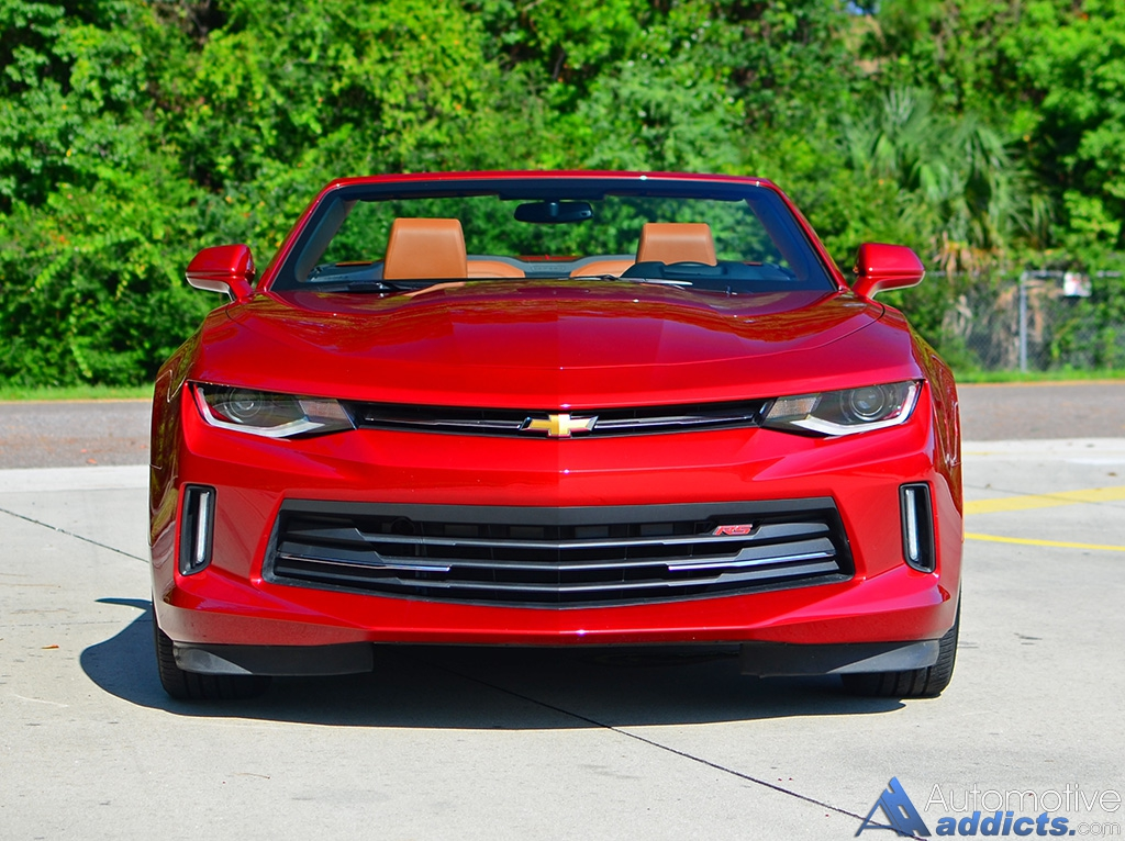 2016 Chevrolet Camaro 2LT RS V6 Convertible Review & Test ...