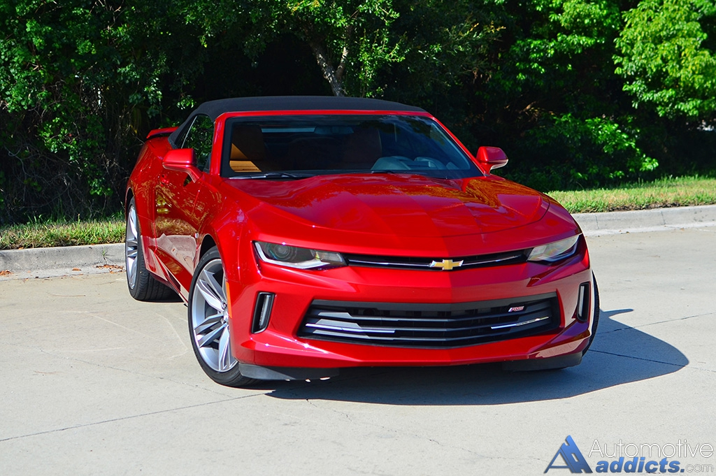 2016 chevrolet camaro 2lt rs v6 convertible review test drive. Cars Review. Best American Auto & Cars Review