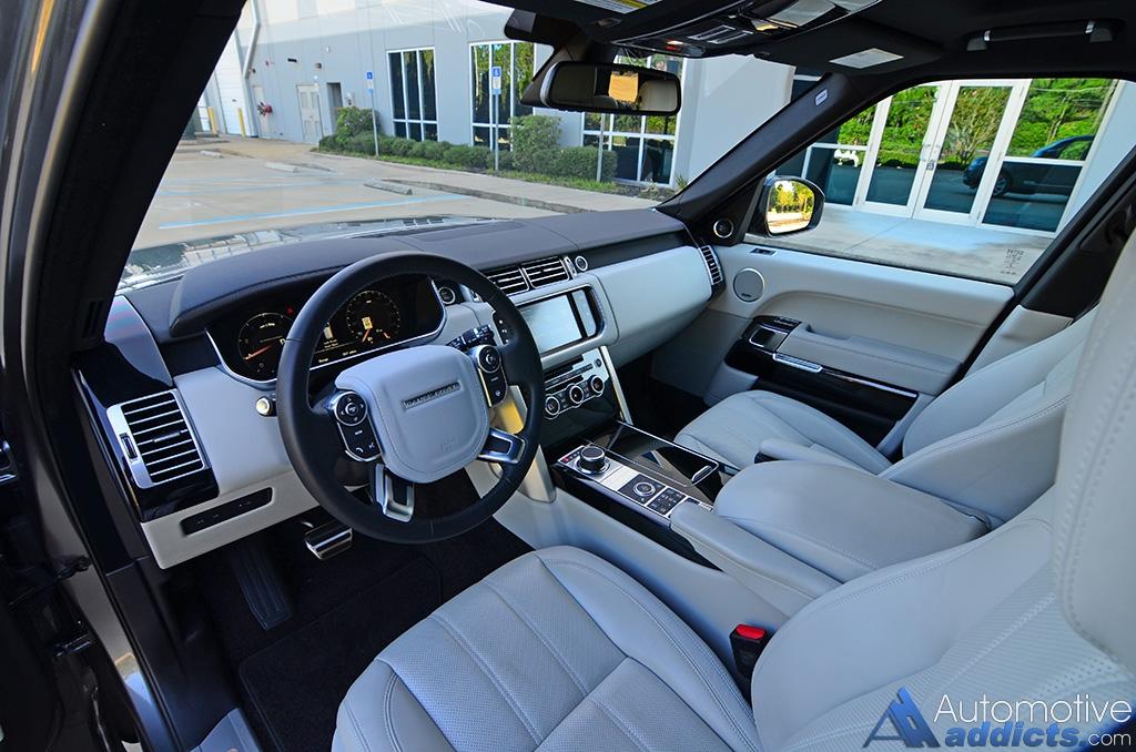 2016 Land Rover Range Supercharged Lwb Dashboard