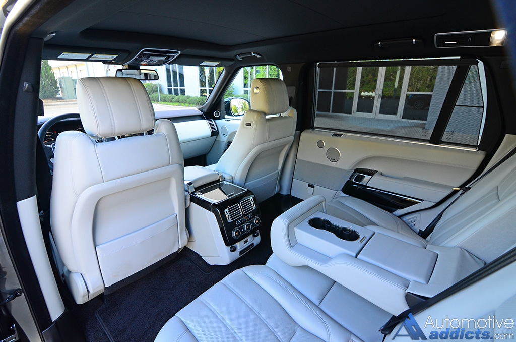 2016 Land Rover Range Supercharged Lwb Rear