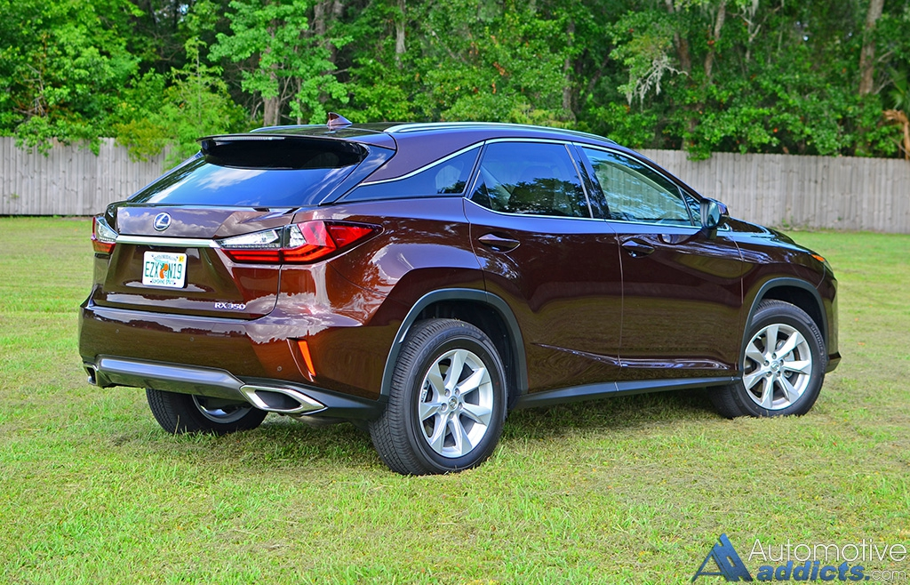 2016 lexus rx 350 awd quick spin. Black Bedroom Furniture Sets. Home Design Ideas