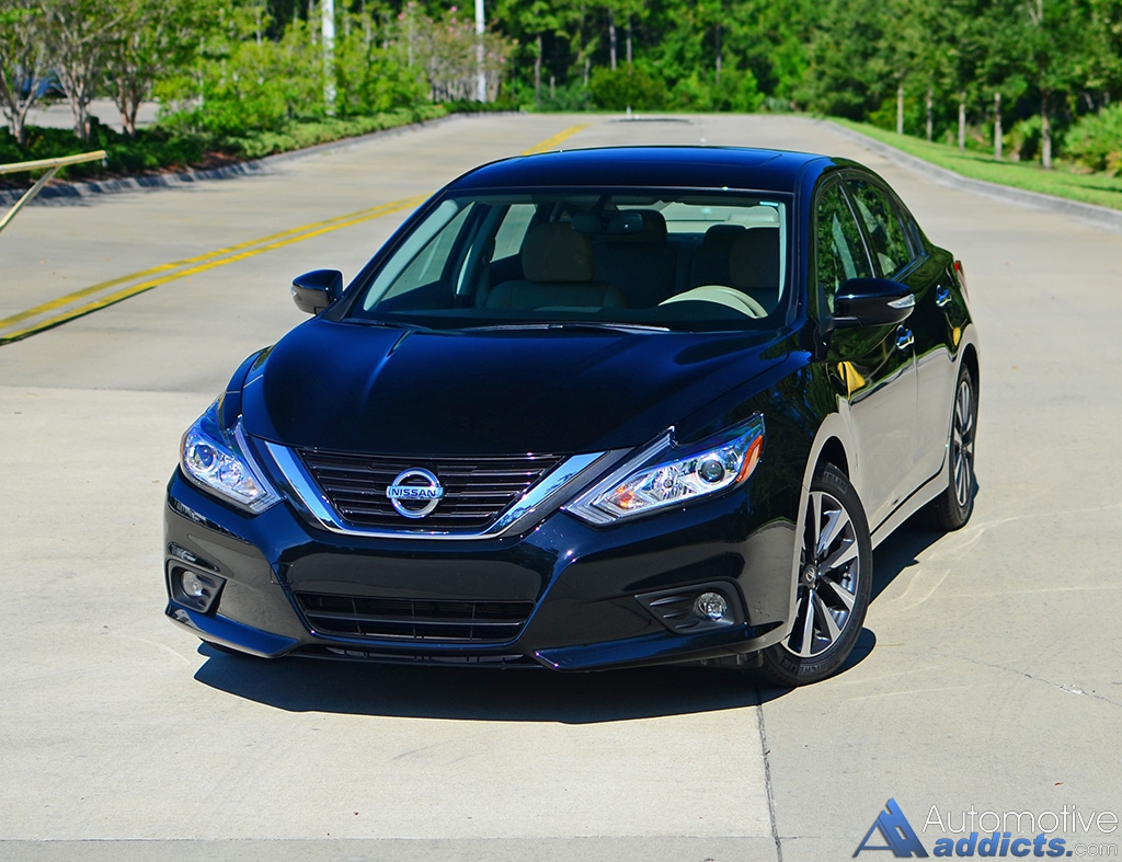 2016 Nissan Altima 2 5 Sl Review Test Drive