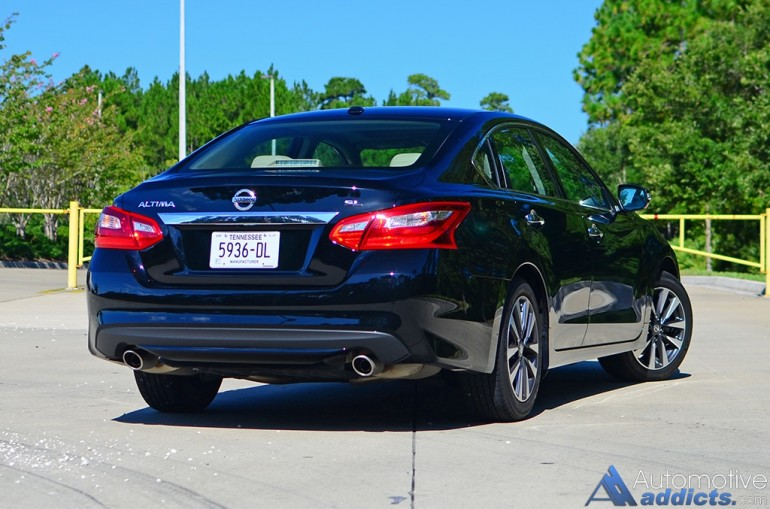 2016 Nissan Altima 2 5 Sl Review Amp Test Drive
