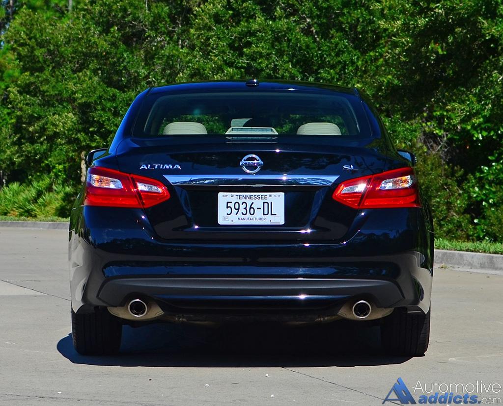 2016 Nissan Altima 2.5 SL Review & Test Drive