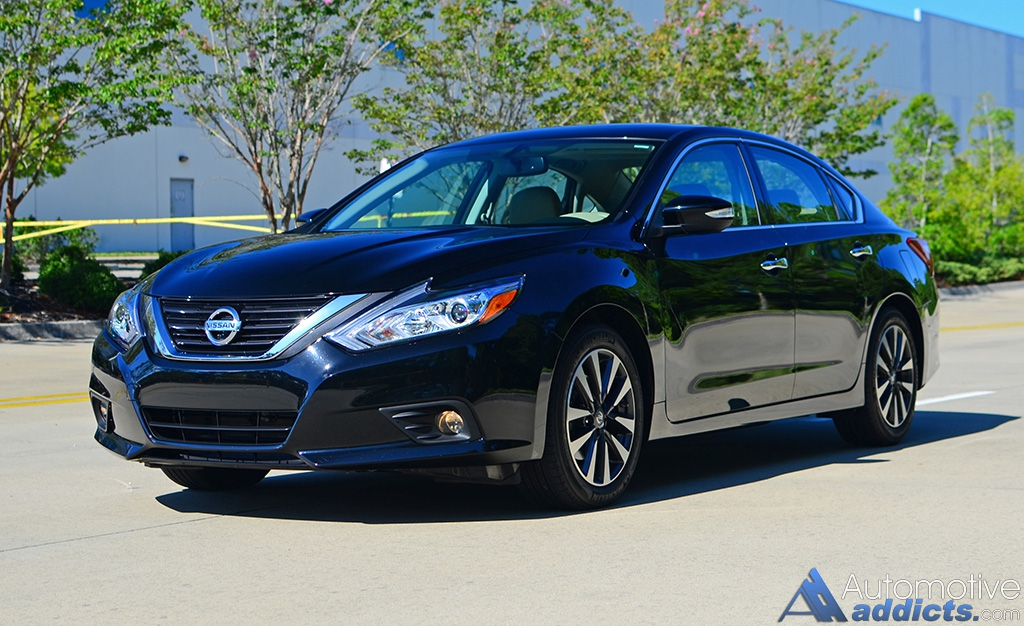 2016 nissan altima 2 5 sl review test drive. Black Bedroom Furniture Sets. Home Design Ideas