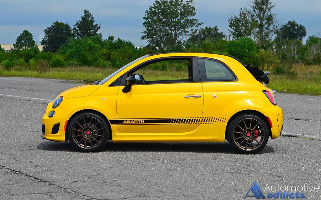2016 Fiat 500c Abarth Cabrio Quick Spin