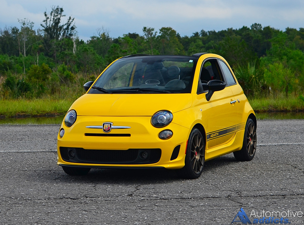 2016 fiat 500c abarth cabrio quick spin. Black Bedroom Furniture Sets. Home Design Ideas