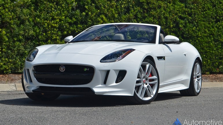 2017 Jaguar F-Type R Convertible Review & Test Drive