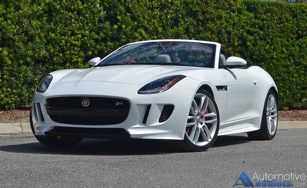 2017 Jaguar F Type R Convertible Review Amp Test Drive