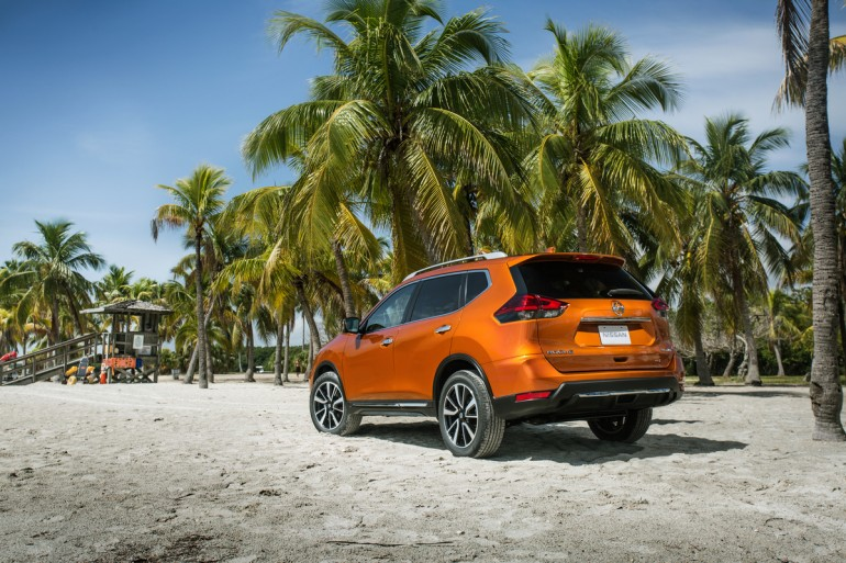 The Nissan Rogue, following three straight years of sales growth since the introduction of the completely redesigned second generation for the 2014 model year, takes another major step forward for 2017 with a new look, enhanced utility and an expanded suite of Nissan Safety Shield technologies.