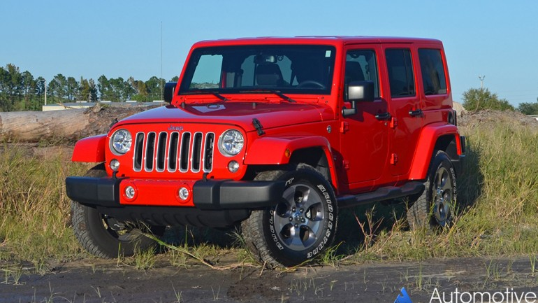 2016 Jeep Wrangler Sahara Unlimited Review & Test Drive