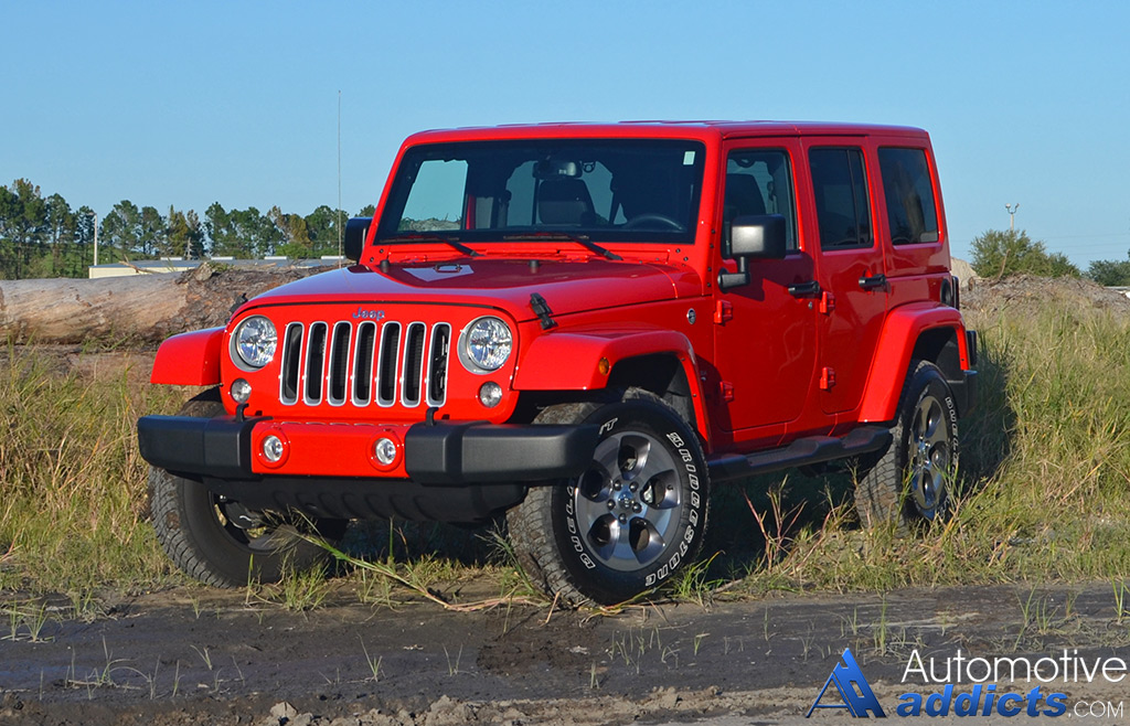 2016 jeep wrangler sahara unlimited review test drive. Black Bedroom Furniture Sets. Home Design Ideas
