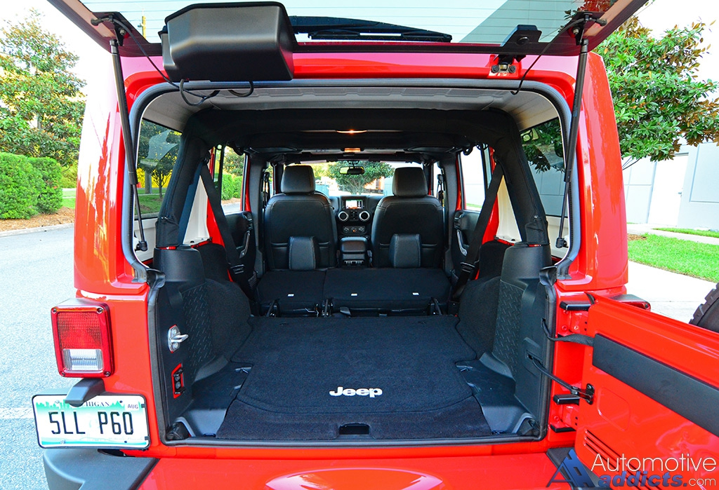 2016 Jeep Wrangler Sahara Unlimited Review Amp Test Drive
