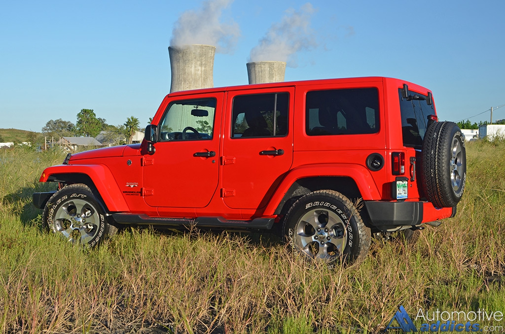 2016 jeep wrangler sahara unlimited review test drive. Black Bedroom Furniture Sets. Home Design Ideas