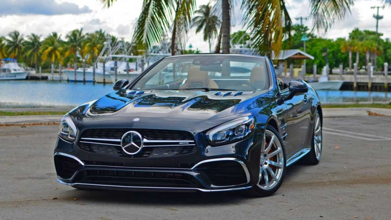 2017 Mercedes-AMG SL65 Roadster Review & Test Drive