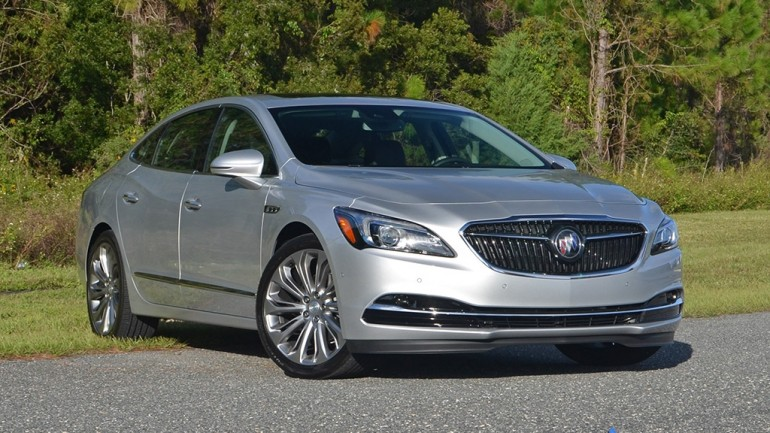 2017 Buick LaCrosse Premium FWD Review & Test Drive