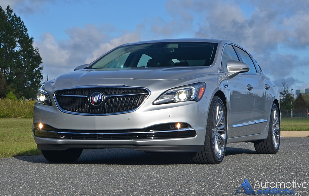 2017 Buick Lacrosse Premium Fwd Review Amp Test Drive