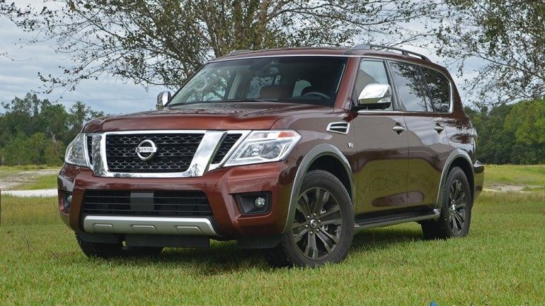 2017 Nissan Armada Platinum AWD Review & Test Drive