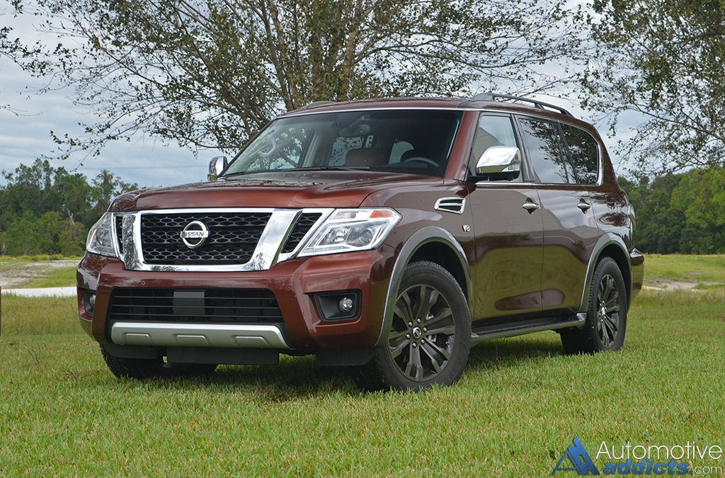 2017 nissan armada platinum awd review test drive. Black Bedroom Furniture Sets. Home Design Ideas