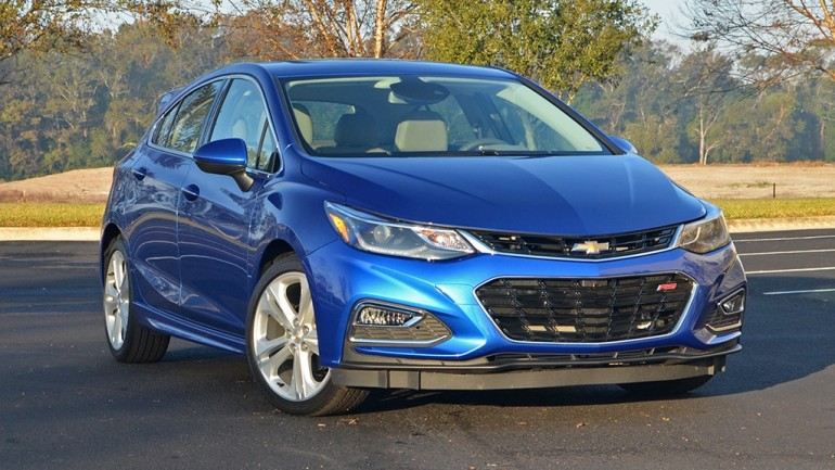 2017 Chevrolet Cruze Hatchback Premier Review & Test Drive
