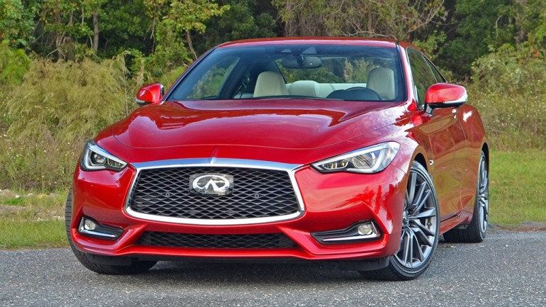 2017 Infiniti Q60 Red Sport 400 Coupe Review & Test Drive