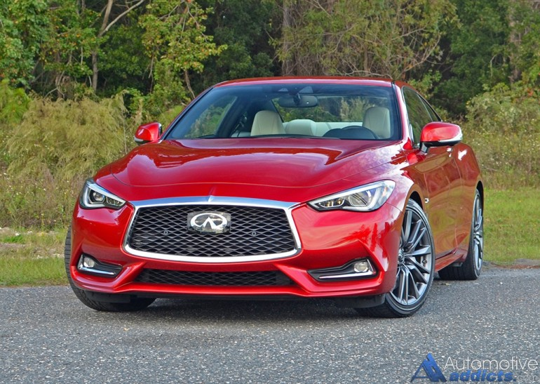 2017 infiniti q60 red sport 400 coupe review test drive. Black Bedroom Furniture Sets. Home Design Ideas