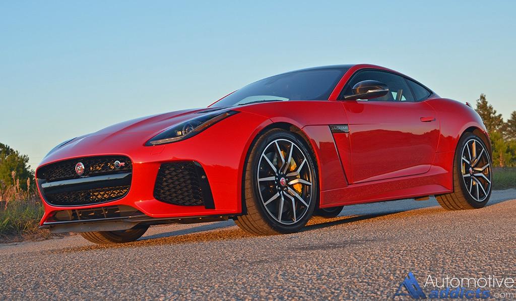 2017 jaguar f type svr coupe review test drive. Black Bedroom Furniture Sets. Home Design Ideas