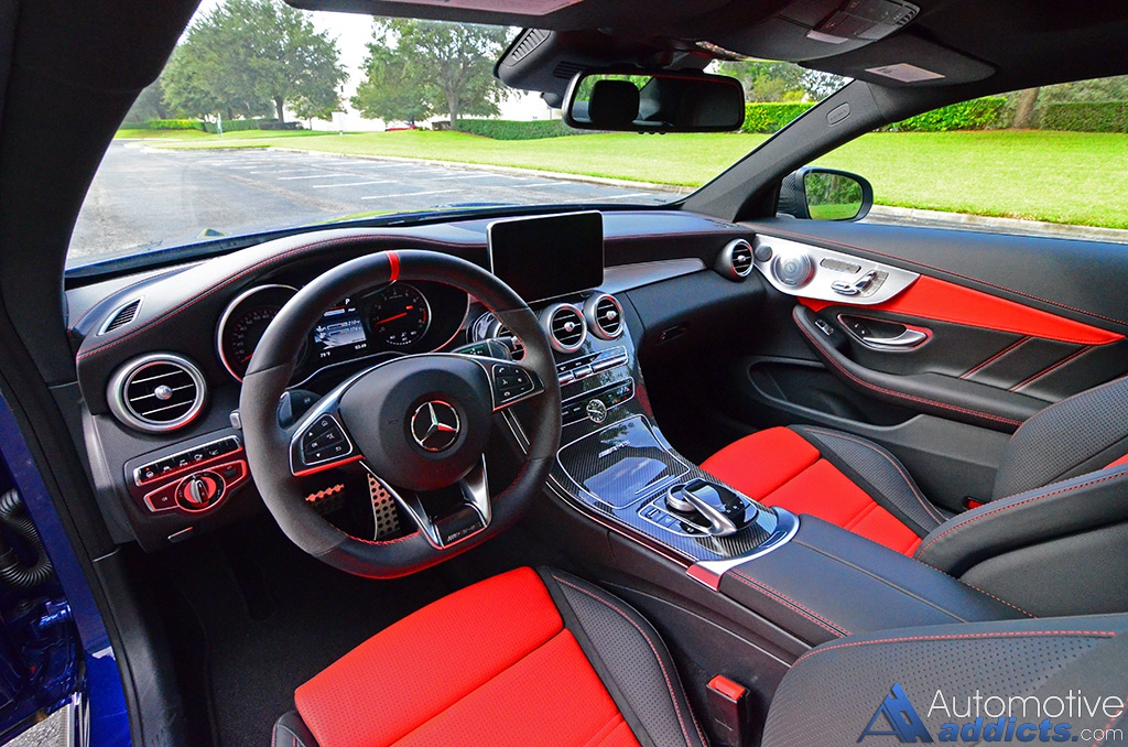 2017 Mercedes-AMG C63 S Coupe Review & Test Drive ...