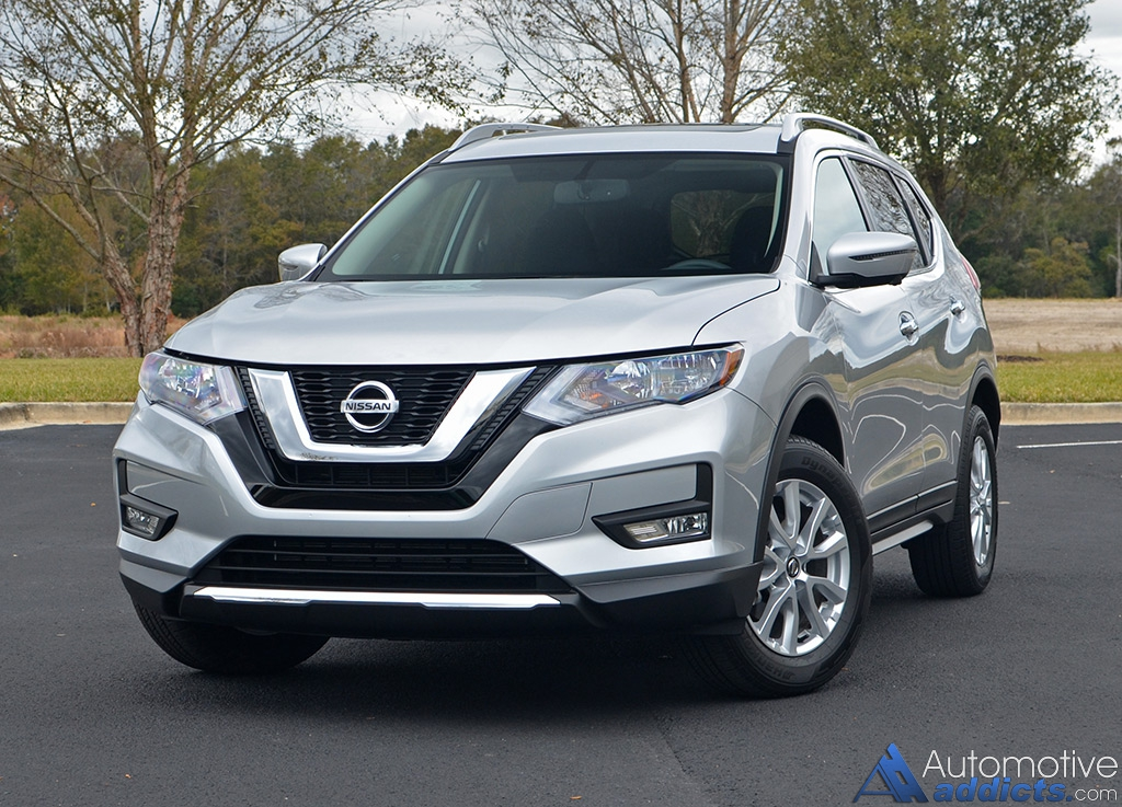 2016 Cadillac Crossover >> 2017 Nissan Rogue SV AWD Review & Test Drive