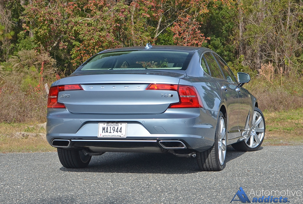 2017 volvo s90 t6 awd inscription review test drive. Black Bedroom Furniture Sets. Home Design Ideas