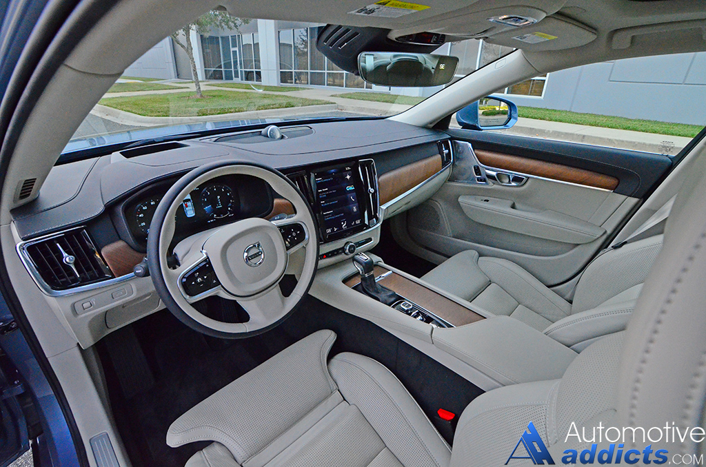 2017 volvo s90 t6 awd inscription review test drive automotive addicts howldb. Black Bedroom Furniture Sets. Home Design Ideas