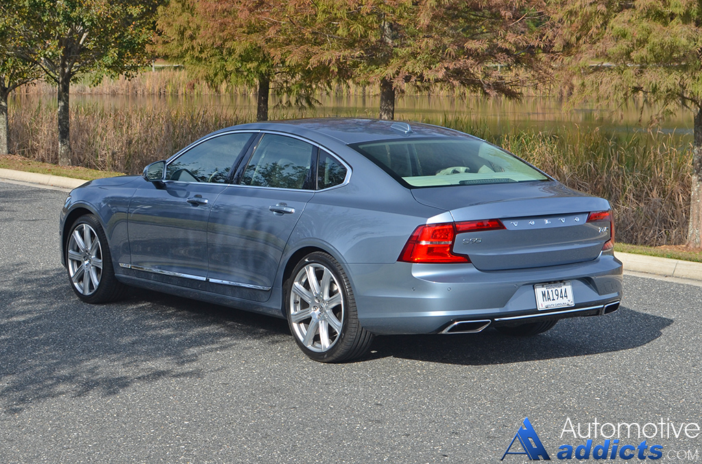 2017 volvo s90 t6 awd inscription review test drive