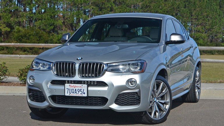 2017 BMW X4 M40i Review & Test Drive