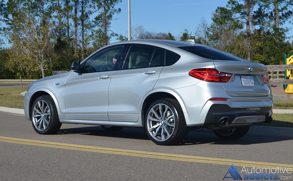 2017 Bmw X4 M40i Review Amp Test Drive