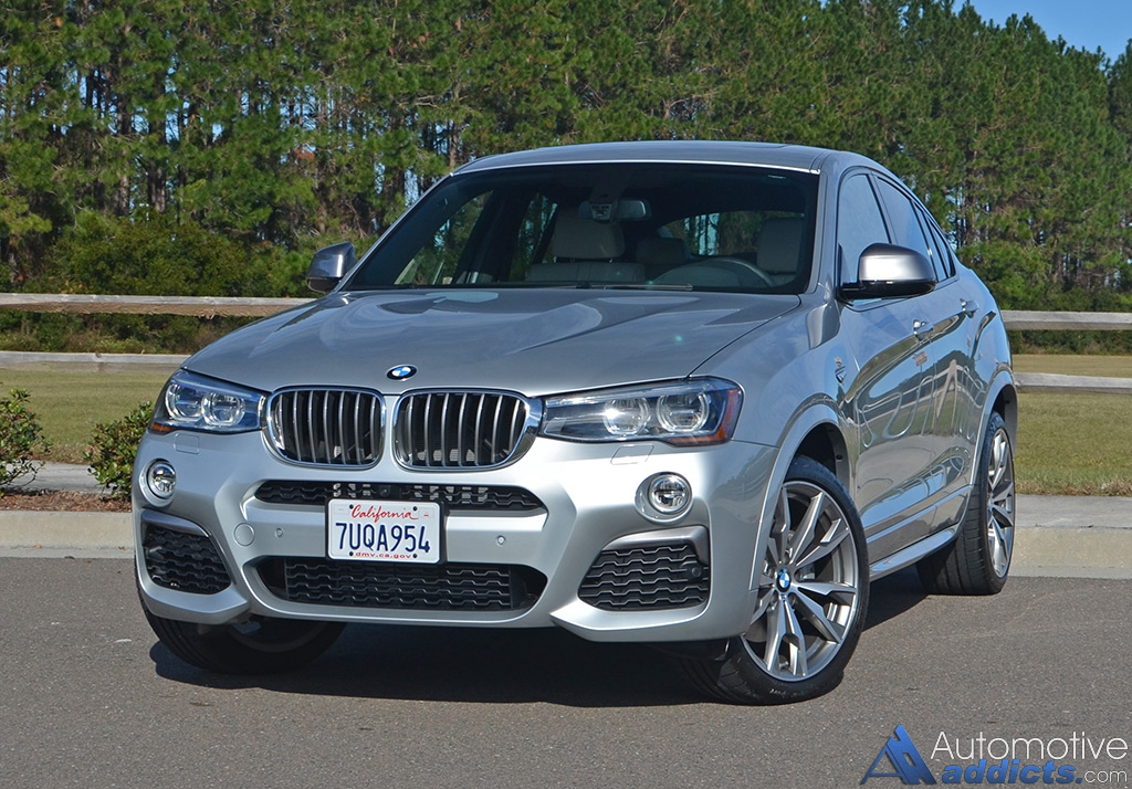 2017 bmw x4 m40i review test drive. Black Bedroom Furniture Sets. Home Design Ideas