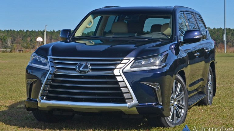 2017 Lexus LX 570 Review & Test Drive