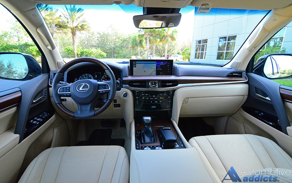 2017 Lexus Lx570 Dashboard 2