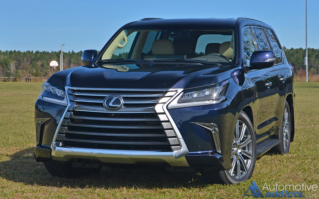 Ram 2018 Redesign >> 2017 Lexus LX 570 Review & Test Drive