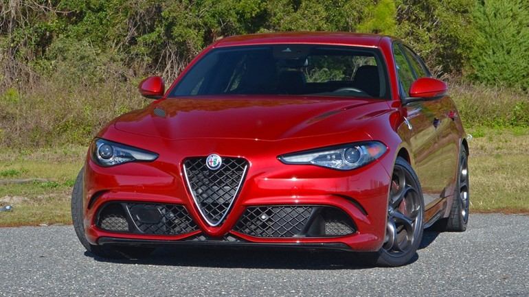 2017 Alfa Romeo Giulia Quadrifoglio Review & Test Drive