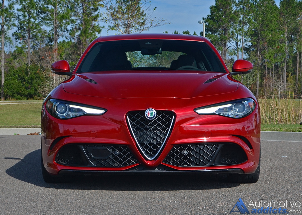 2017 alfa romeo giulia quadrifoglio review test drive. Black Bedroom Furniture Sets. Home Design Ideas