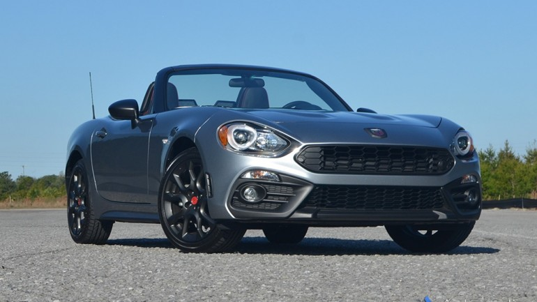 2017 Fiat 124 Spider Abarth Review & Test Drive